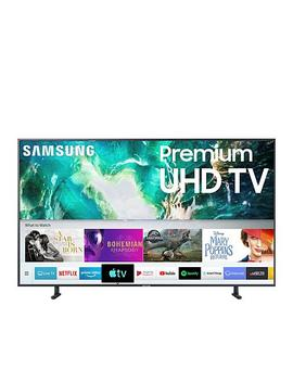 """<Span Class=""""Callout Exclusive"""">Exclusive!</Span>                  Samsung Ru8000 4 K Ultra Hd Smart Tv With 2 Year Warranty &Amp; Voucher by Samsung"""