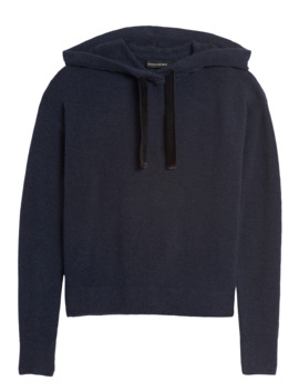 Aire Hoodie Sweater by Banana Repbulic