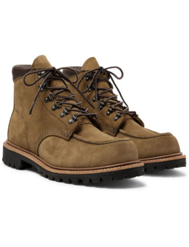 2926 Sawmill Roughout Leather Boots by Red Wing Shoes