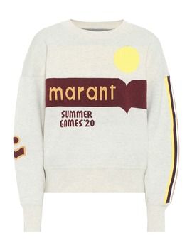 Kleden Cotton Blend Sweater by Isabel Marant, Étoile