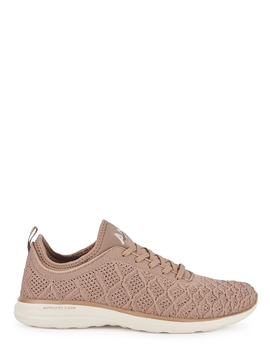 Techloom Phantom Taupe Knitted Sneakers by Athletic Propulsion Labs