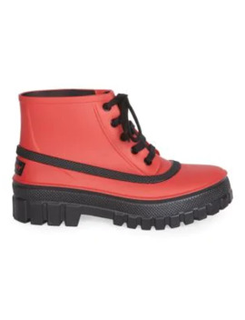 Glaston Ankle Rain Boots by Givenchy