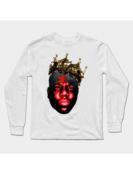 Notorious B.I.G. Sculpture Long Sleeve T Shirt by Tee Public