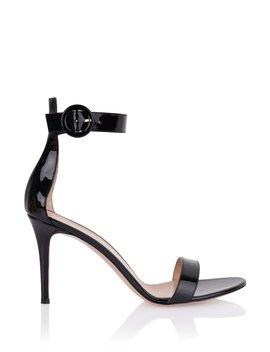 Portofino Black Patent Sandal by Orchard Mile