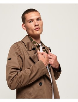 Edit Double Breasted Mac Jacket by Superdry