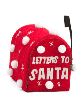 8.5in Letters To Santa Mail Box by Tj Maxx