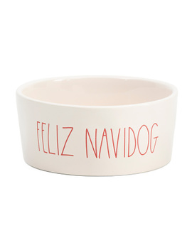 Feliz Navidog Pet Bowl by Tj Maxx