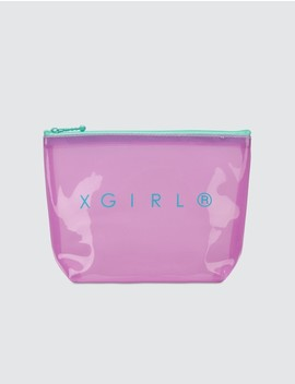 Pvc Clear Pouch by X Girl