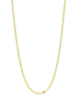 14 K Yellow Gold Chain Necklace by Bony Levy