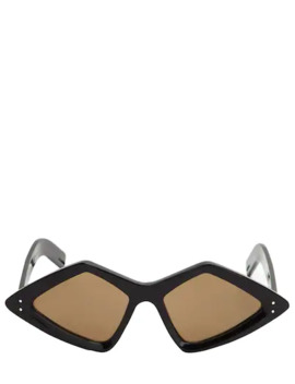 Rhombus Acetate Sunglasses by Gucci
