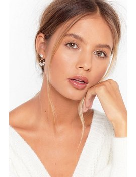 Pearl Hoop Earrings by Nasty Gal