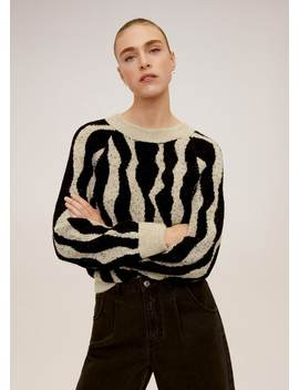Pullover Jacquard by Mango