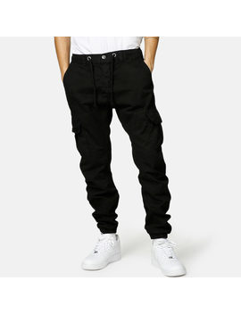Jogger   Stretch Cargo by Urban Classics