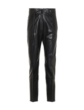 Pantalon En Cuir by Petar Petrov