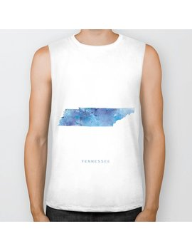 Tennessee Biker Tank by Society6