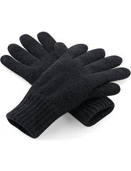 Classic Thinsulate Handschoenen Zwart S/M by Beechfield