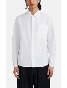 Tab Detailed Cotton Oxford Shirt by Craig Green