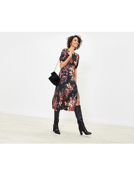 Floral Midi Dress by Oasis