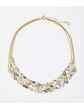 Multistrand Stone Necklace by Loft