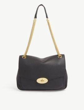 Darley Leather Medium Shoulder Bag by Mulberry