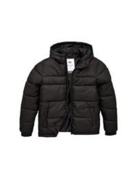 Boys Padded Coat   Black by Hype