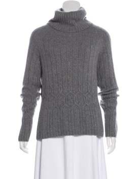 Medium Weight Turtleneck Sweater by Chanel