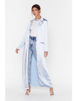 Satin Duster Jacket by Nasty Gal