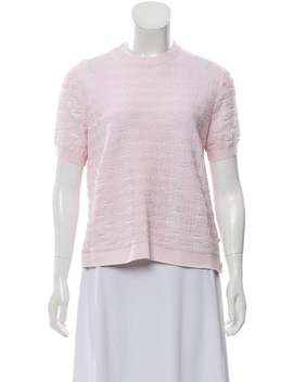 2019 Short Sleeve Top by Chanel