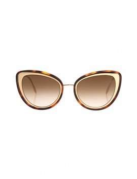 Sunglasses With A Speckled Pattern by Alexander Mc Queen