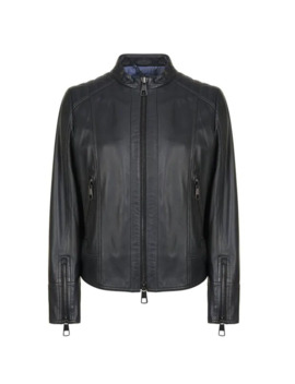 Jafalbe Leather Jacket by Boss