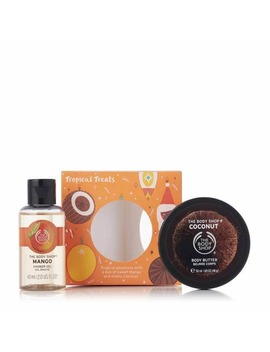 Creamy & Sweet Tropical Treats by The Body Shop