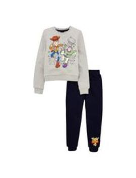 Boys Sweat & Jogger Set   Grey/Blue by Toy Story