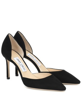 Esther 85 Suede Pumps by Jimmy Choo