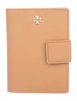 Emerson Leather Passport Holder by Tory Burch
