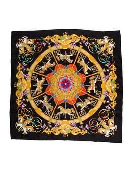 Luna Park Silk Jacquard Scarf by Hermès