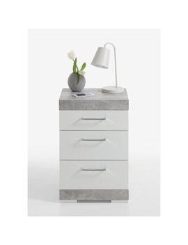 Haygashen 3 Drawer Bedside Table by 17 Stories