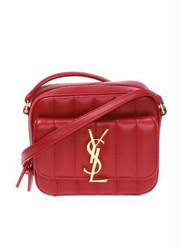 'vicky' Quilted Shoulder Bag by Saint Laurent