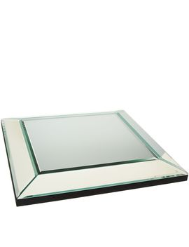 "12"" Square Beveled Mirror Centerpiece By Valerie by The Valerie Parr Hill Collection"