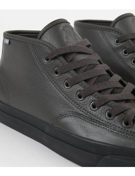 Converse Jack Purcell Pro Mid Leather Jake Johnson Shoes   Beluga / Black / Black by Converse