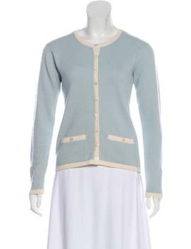 Cashmere Vintage Cardigan by Chanel