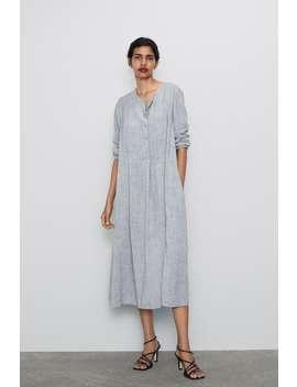 Kleid Mit KnÖpfen Kleider by Zara