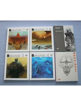 Zdzislaw Beksinski Set Of 6 Polish English Mini Albums Painting Drawing Graphic by Ebay Seller