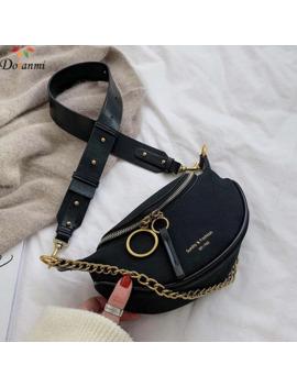 Doranmi Marca De Lujo Diseñado Riñonera Para Mujer Riñonera De Cintura 2019 Bolsos De Cuero De Gamuza Para Mujer Bolsa De Cinturón Con Letras Impresas Bg224 by Ali Express.Com