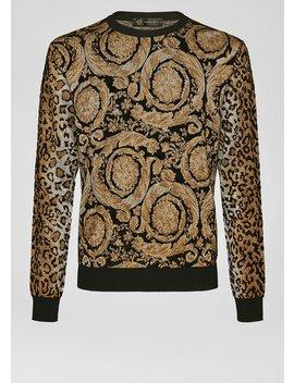 Jersey De Jacquard Barroco Jaguar by Versace