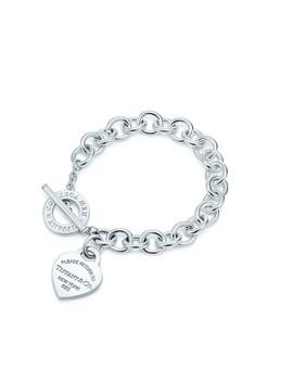 Return To Tiffany®        Heart Tag Toggle Bracelet by Return To Tiffany®