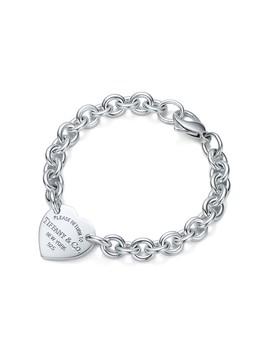 Return To Tiffany®        Heart Tag Bracelet by Return To Tiffany®