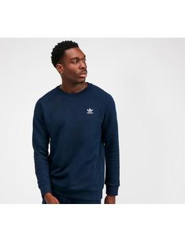 Essential Crewneck Sweatshirt | Collegiate Navy by Adidas Originals