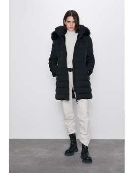 Water Resistant Down Puffer Jacket by Zara
