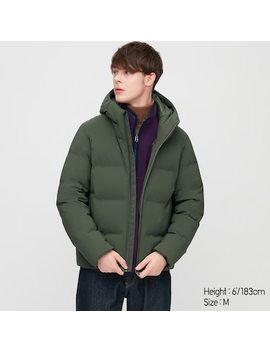 Men Seamless Down Hooded Parka (11) by Uniqlo