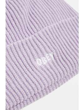 "Obey – Beanie ""Hangman"" In Flieder by Obey Shoppen"
